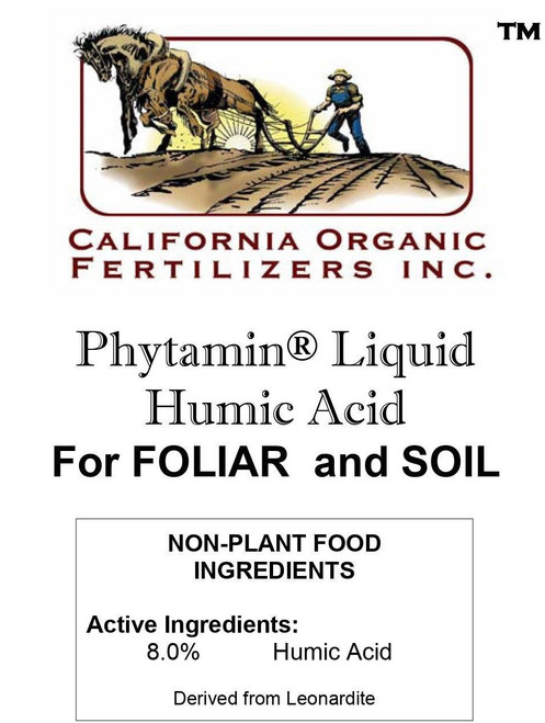 California Organic Fertilizers Inc. Liquid Humic Acid 5 gal