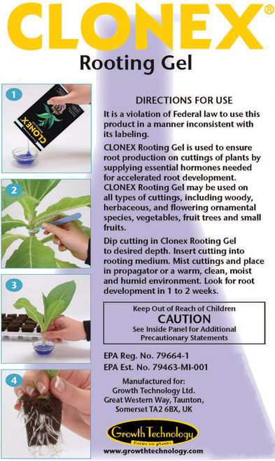 Clonex: Rooting Gel, 1gal