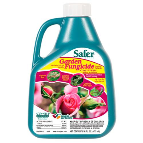 Safer Garden Fungicide Concentrate 16oz