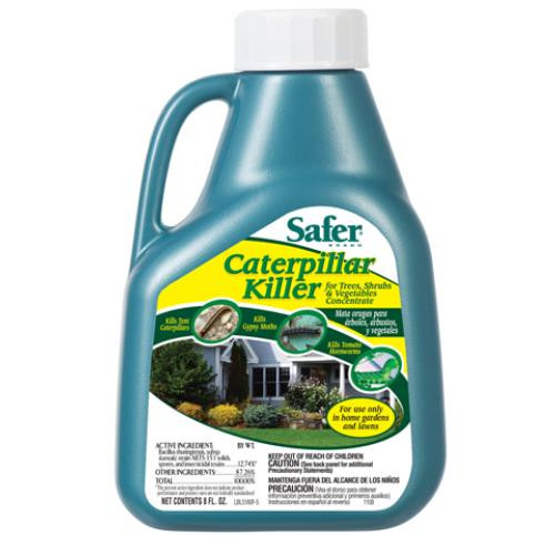 Safer Caterpillar Killer 16oz (Bacillis turingensis var. Kurstaki)