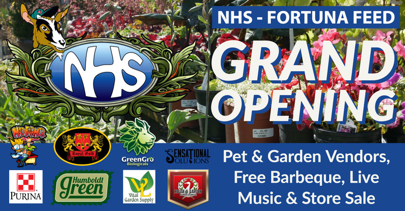 NHS – Fortuna Feed Grand Opening Event