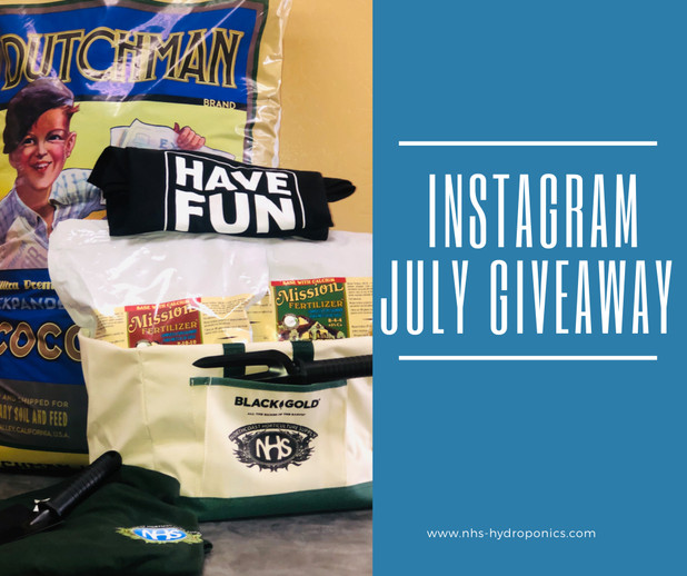NHS July Instagram Giveaway