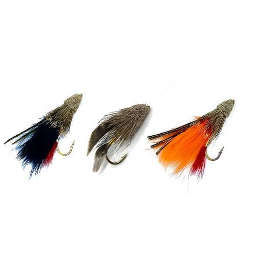 View of Muddler fishing bait varieties from Rapid Baits