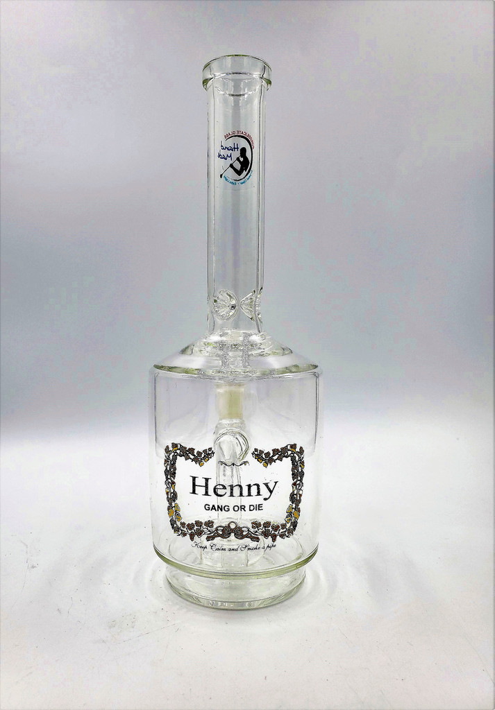 """10"""" Henny Cognac Water Pipe/Bong 