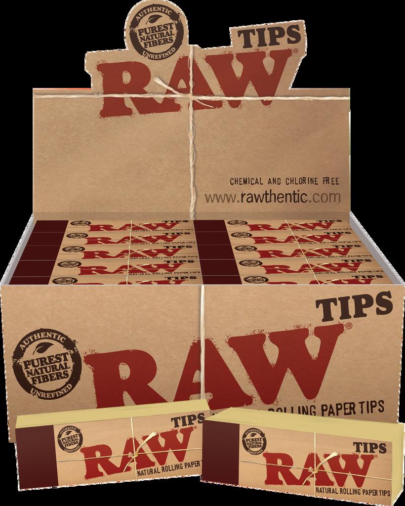 RAW Original Tips Regular 50ct | 50 Per Pack