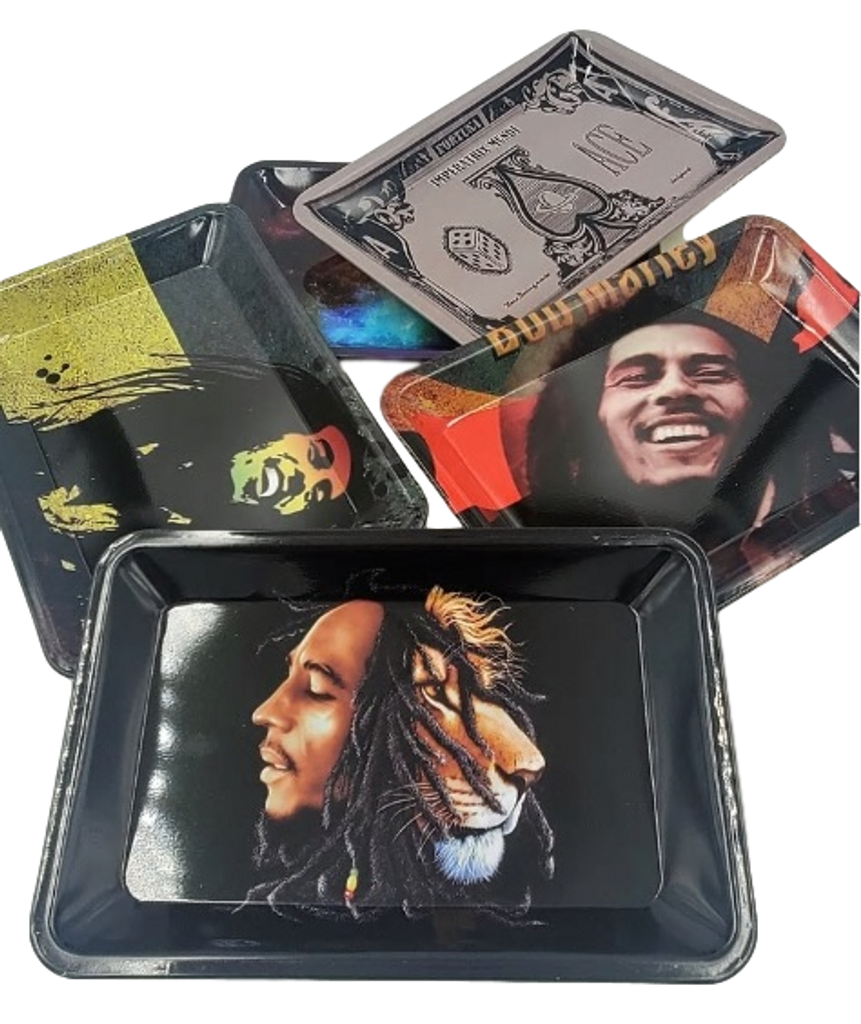 "5.5"" x 7"" Various Character Rolling Trays"