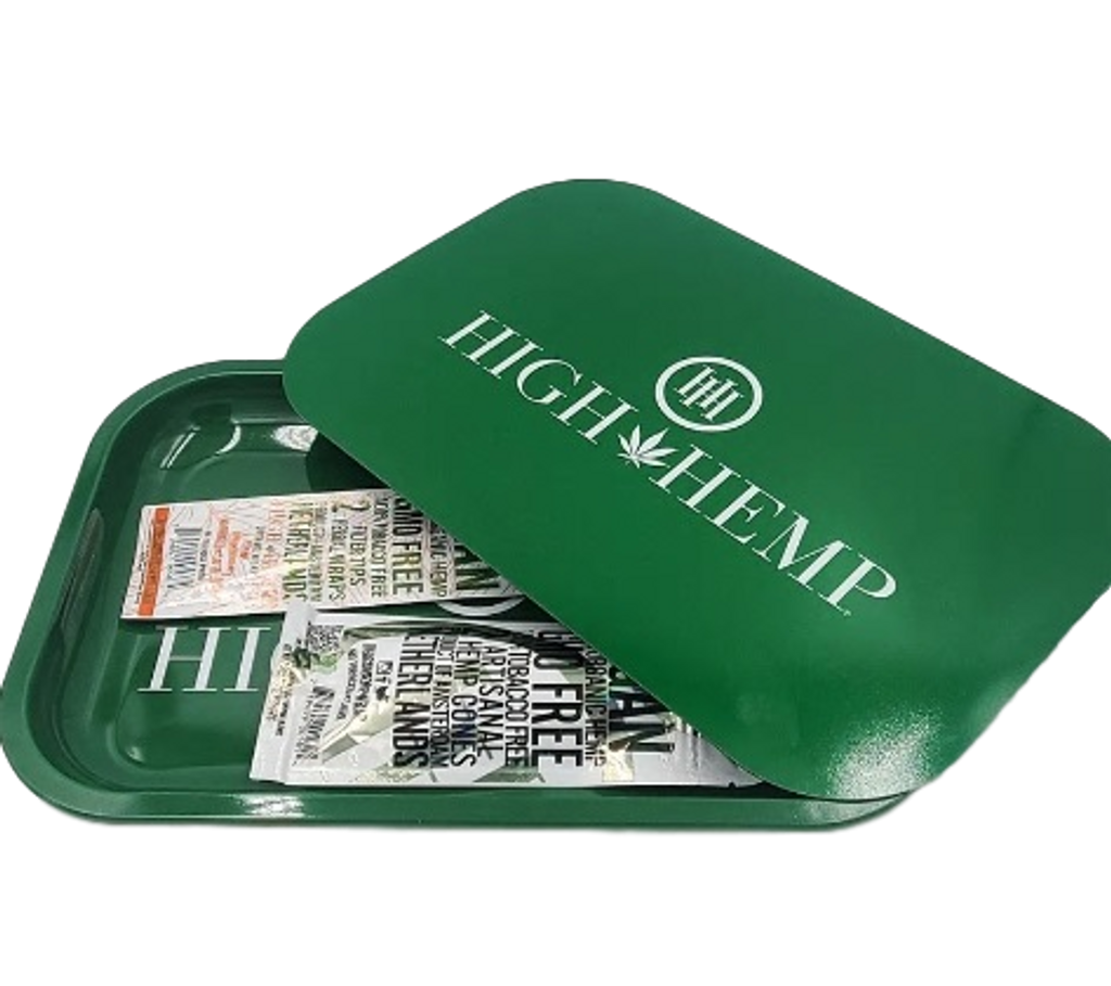 High Hemp Magnetic Tray Combo contains 2 pouches of Hemp Wraps
