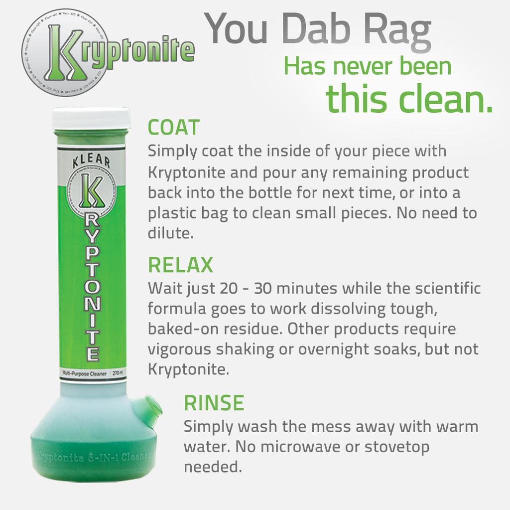 KLEAR Kryptonite Original Bong Cleaner 270 milliliter