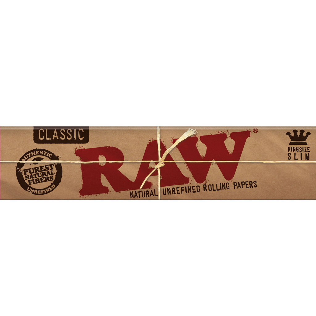 RAW Classic - King Size Slim 50 pack Retail Display
