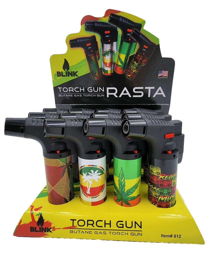 """Blink 5"""" Rasta Torches 