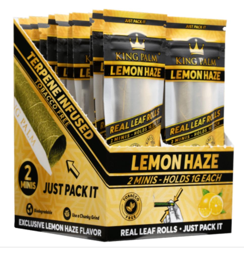 King Palm Cones - Mini Size - Lemon Haze - 20ct