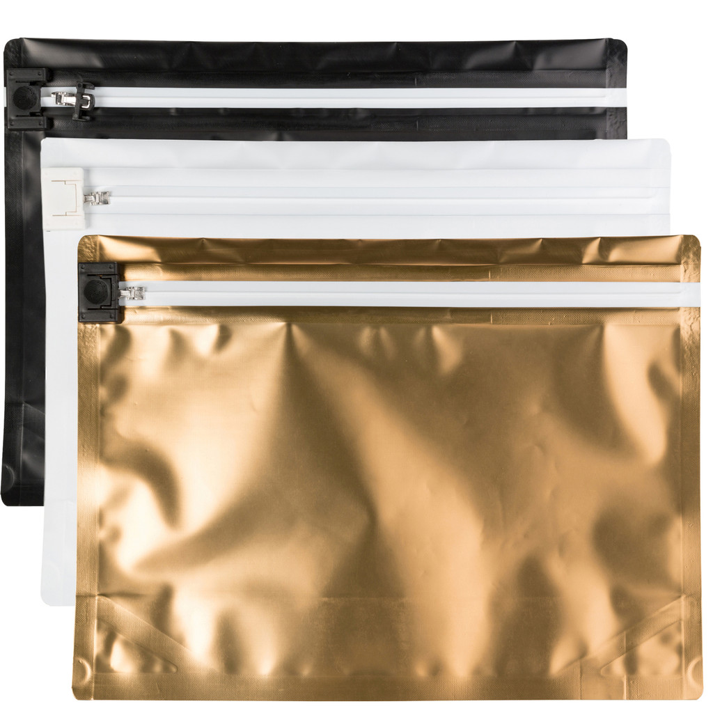 Custom Child-Resistant Push & Slide Exit Bags