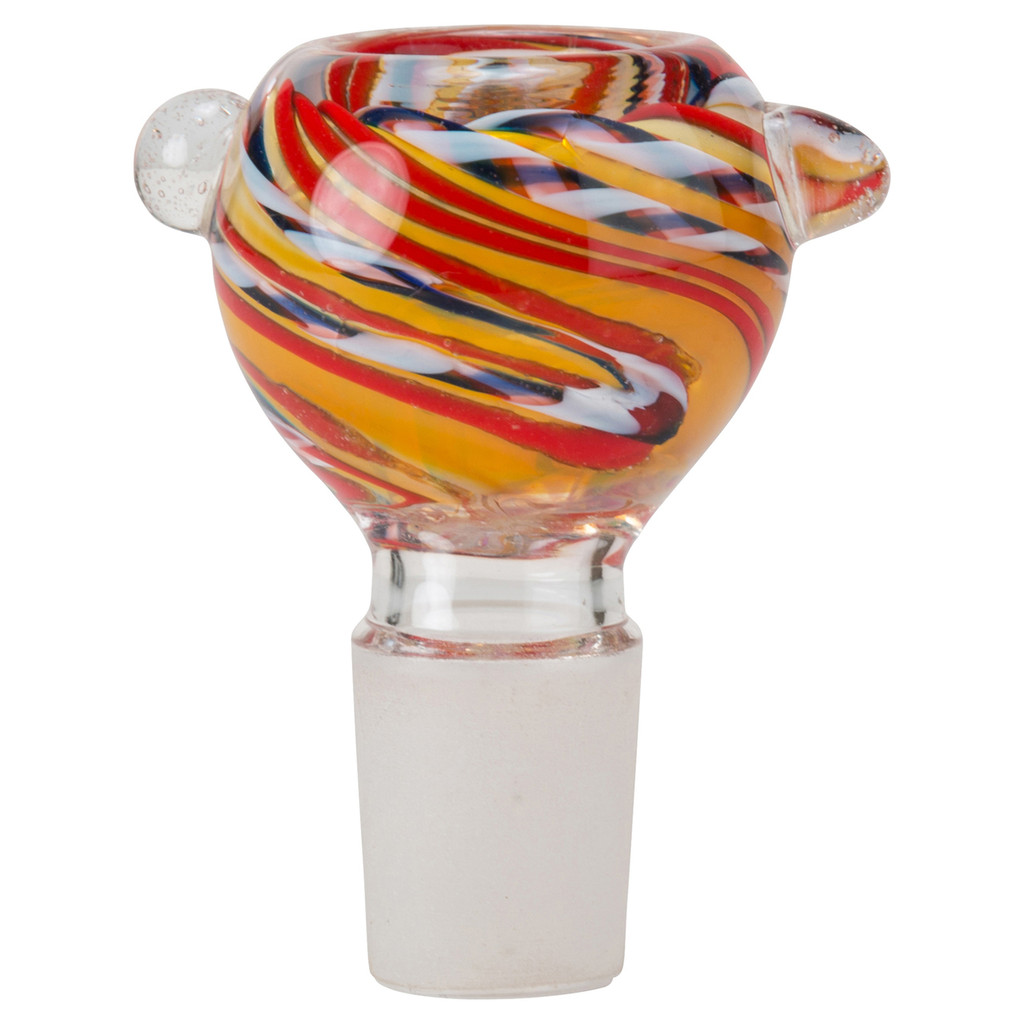 Glass-On-Glass Bowl | 18mm Colored