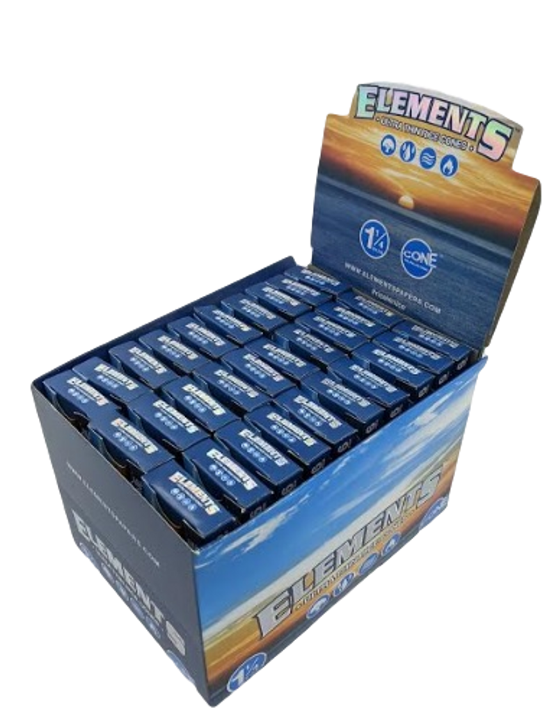 """Elements 1 1/4"""" Pre-rolled Cone 