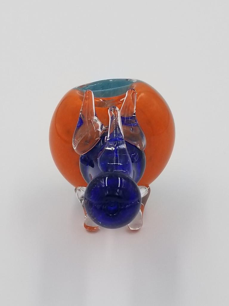 Animal Pipe | Rhino Glass Hand Pipe | Large