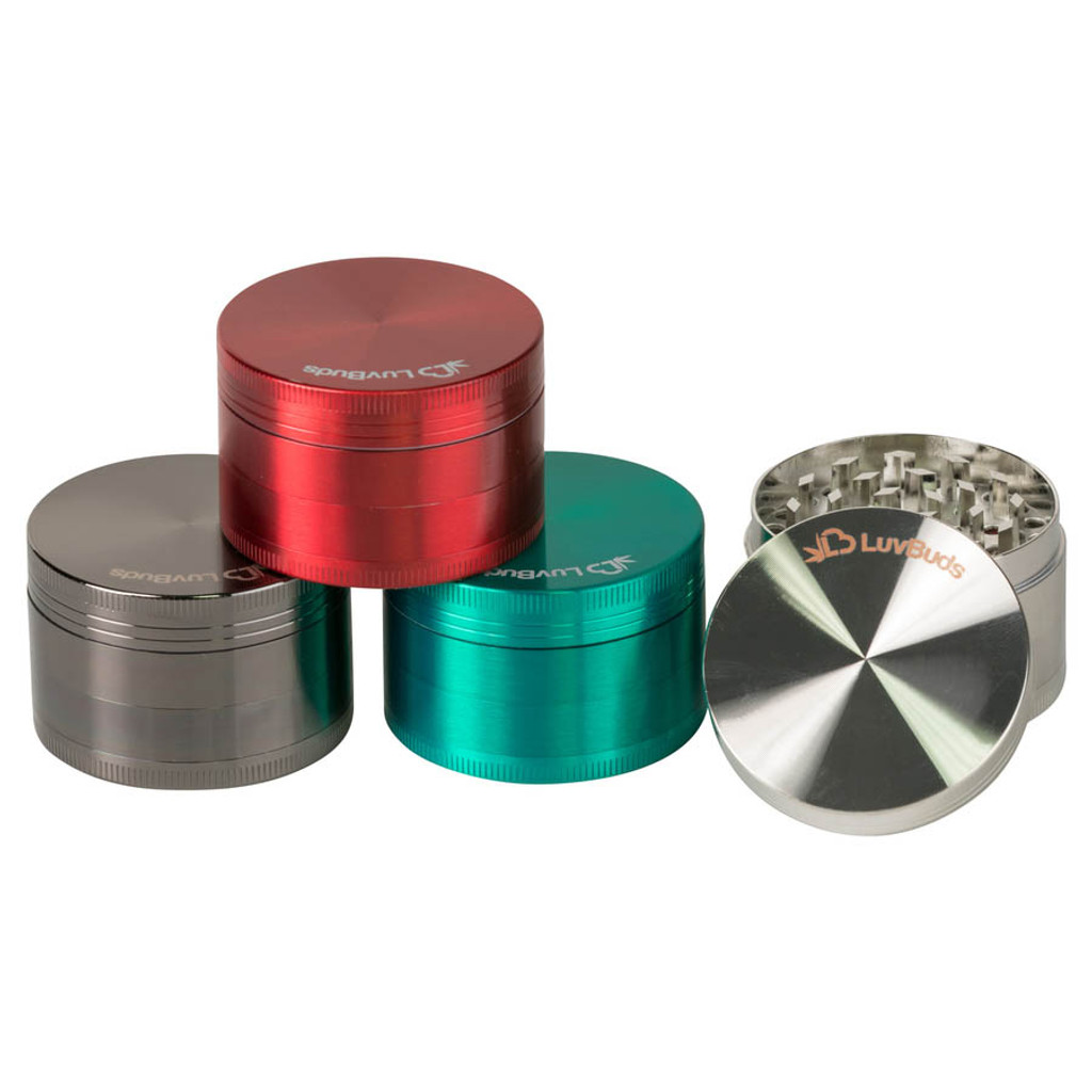 Custom 50mm 4-Piece Zinc Grinder