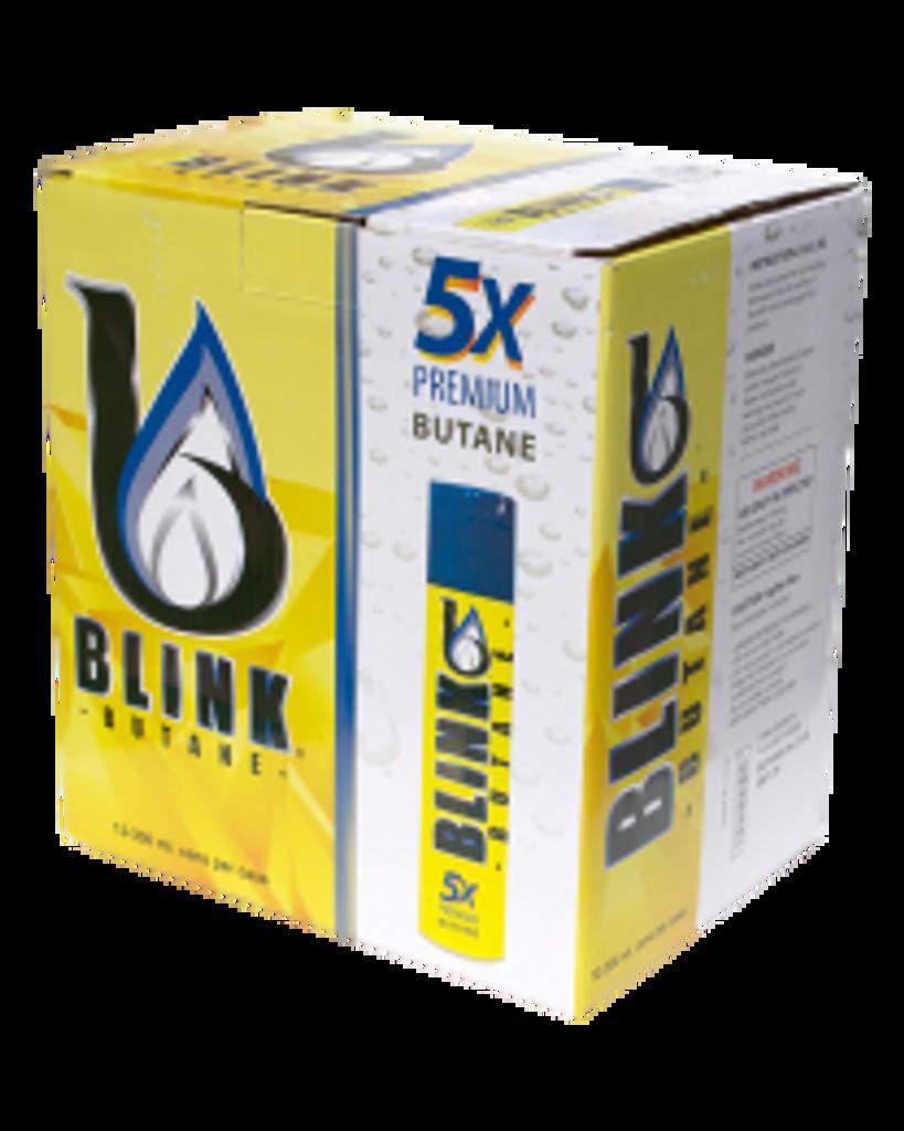 Blink Butane 5 times filtered - 12 - 300ml bottles per case - Retail Packaging