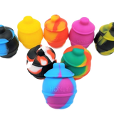 35ml Silicone Honey Pot Wax Container  Assorted Colors
