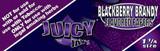 JUICY JAY'S 1 1/4 inch Blackberry Brandy 24 Booklets
