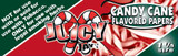 JUICY JAY'S 1 1/4 inch Candy Cane 24 Booklets