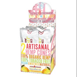 High Hemp Hydro Lemonade Artisanal Hemp Cones 15 Pouches 2 Cones per pouch