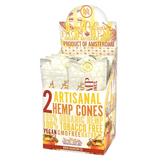 High Hemp Honey Pot Swirl Artisanal Hemp Cones 15 Pouches 2 Cones per pouch
