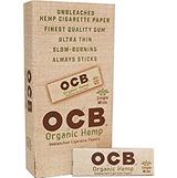 OCB Organic Single Wide 50 leaves 24 books