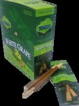 Endo White Grape Hemp Wraps with Wooden Tip 15 Pouches 2 Wraps per Pouch