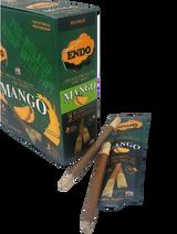 Endo Mango Hemp Wraps with Wooden Tip 15 Pouches 2 Wraps per Pouch