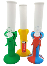 """12"""" Silicone Banana Bong  Assorted Colors - Lighter not included"""