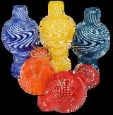 XL Flat Top Tornado Bubble Carb Cap Assorted Colors