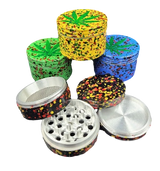 50mm Jawbreaker 4pc Grinder | Assorted Colors