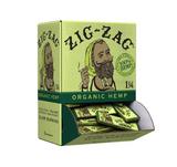 Zig Zag Organic Hemp 1 1/4 inch Rolling Papers 48 Books