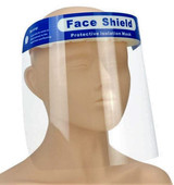 Protective Face Shield 22 centimeter by 32 centimeter 10 Pack