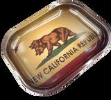 5.25 inch by 7.25 inch New California Republic Rolling Tray