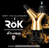 Pulsar ROK Electric Water Pipe - The Alchemist SPECIAL EDITION GOLD