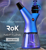 Pulsar ROK Electric Water Pipe - NEPTUNE SPECIAL EDITION BLUE
