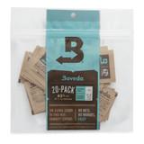 Boveda 1 Gram Square 20 Pack 62 percent - 1 Gram 20 Packs