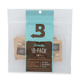 Boveda 4 Gram 10 Pack 58 percent - 4 Gram 10 Pack PROTECTS UP TO 1/2 OUNCE