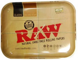 11 inch by 13 inch Large Raw Rolling Tray Assorted Styles