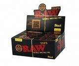 Raw Black Natural Unrefined Tips 50 Books 50 Tips per Book