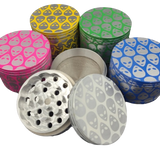 50mm 4 pc. Alien Grinder | Assorted Colors
