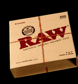 RAW 5 inch by 5 inch Parchment Paper 500 per Box