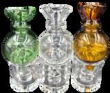 Large Bulb Crown Carb Cap Assorted Colors