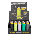 Toker Poker Display 25 count Assorted Colors