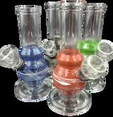 6 Inch Swirl Mini Bongs  Assorted Colors