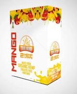 True Hemp - MANGO Organic Hemp Wraps | 2 Wraps per Pouch | 25 Pouches per Box