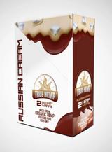 True Hemp - RUSSIAN CREAM Organic Hemp Wraps | 2 Wraps per Pouch | 25 Pouches per Box