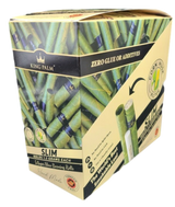 King Palm SLIM Pre-Rolled Cone Display - 15 Packs Per Box, 5 Wraps Per Pack