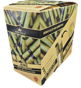 King Palm KING Pre-Rolled Cone Display - 15 Packs Per Box, 5 Wraps Per Pack